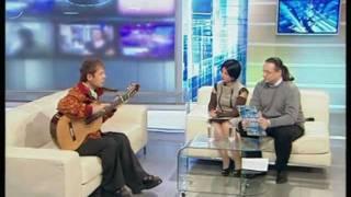 """Гитарист Дидюля в гостях у программы """"Реальное Время"""""""