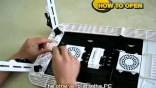 Flexible Portable Laptop e-Table LD09 from Techcity.pk