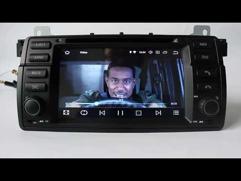 Best BMW E46 Android Head Unit Multimedia Radio Upgrade - смотреть