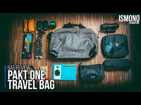 The only bag you'll ever want? PAKT ONE Carryon Bag REVIEW