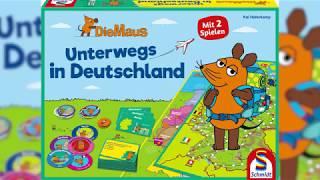 Die Maus - UNTERWEGS IN DEUTSCHLAND │ Schmidt Spiele (Erklärvideo)