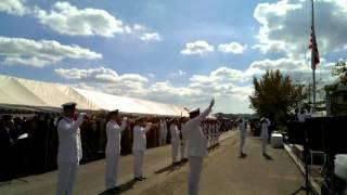 2013年10月6日鶉野飛行場平和祈念祭軍艦旗掲揚
