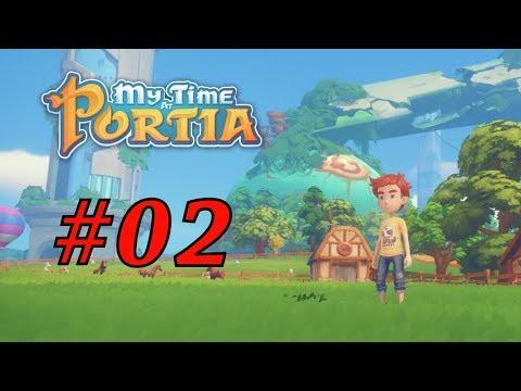My Tima at Portia #02 | Holly, doly, jabloň, kráva, lepší krumpáč rány dává ^^ | CZ HD
