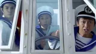 Японская поп-группа Arashi авто NISSAN