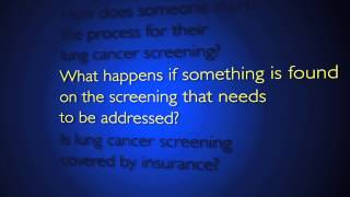 Lung Cancer Screening   Q&A