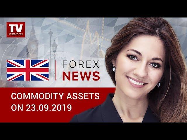 23.09.2019: The market calms down amid US peace making (BRENT, WTI, USD/RUB)