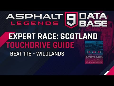 Expert Race Scotland Sunday - Wildlands 1: 16 Touchdrive Guide