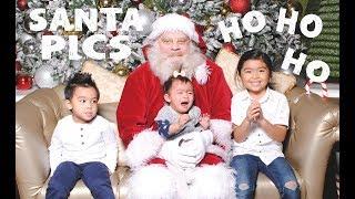 Time to Meet Santa | Family Vlogs | April
