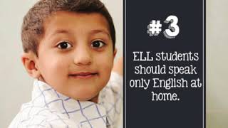 5 Possible Misconceptions about your ELL Students