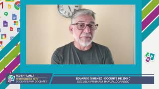 Eduardo Giménez, Escuela Manuel Dorrego