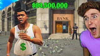 Robbing A MEGA Bank In GTA 5.. (Mods)