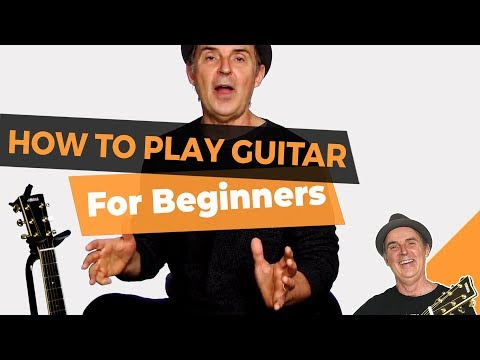 How to Play Guitar for Beginners - Lesson #1 Beginner Guitar for Grownups
