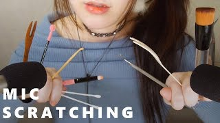 ASMR How to Feel Tingles with Mic Scratching