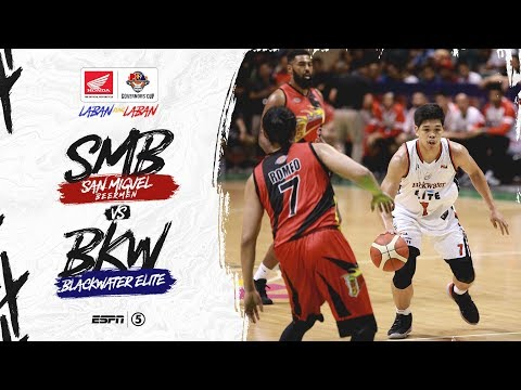 [Sport5]  Full Game: San Miguel vs Blackwater | PBA Governors' Cup 2019