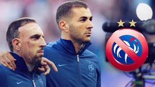 Why Have Benzema And Ribéry Stopped Playing For France?   Oh My Goal