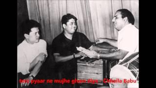 Mohd. Rafi - Chhalia Babu (1967) - 'tere pyaar ne mujhe gham