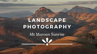 Landscape Photography | Mt Maroon Sunrise