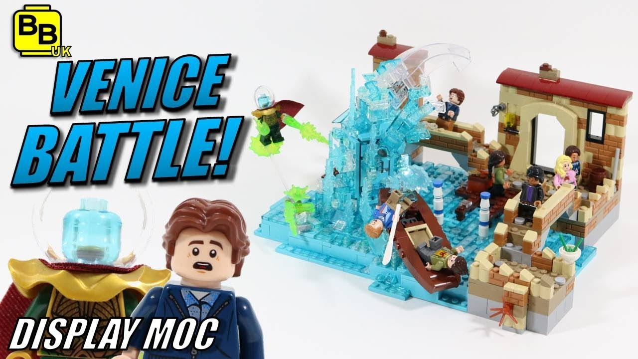 LEGO SPIDER-MAN FAR FROM HOME VENICE BATTLE MOC
