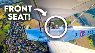Flying an 80 Year Old WWII BIPLANE in Germany