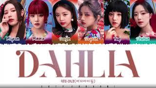(G)I-DLE - 'DAHLIA' Lyrics [Color Coded_Han_Rom_Eng]