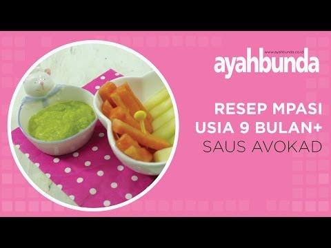 Resep MPASI (Bayi 9 bulan+) - Saus Avokad