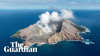 New Zealand volcano: fatal eruption on White Island