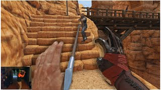 Catching Arrows mid Air in Virtual Reality 4K