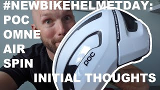 Poc Omne Air Spin... #NewHelmetDay Initial Thoughts And Review