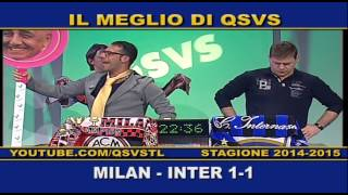 preview picture of video 'QSVS - I GOL DI MILAN - INTER 1-1  - TELELOMBARDIA'