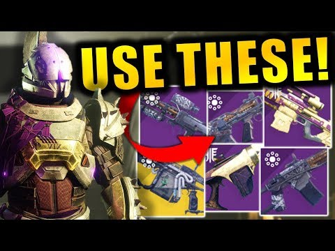 BEST WEAPONS to use in Season of Dawn | Destiny 2