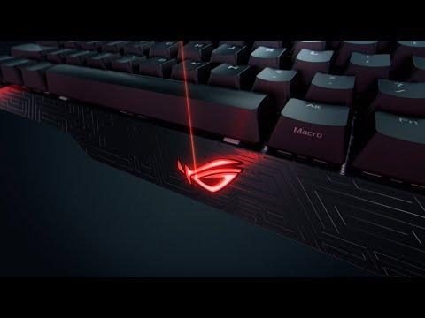 ROG Claymore RGB Gaming Keyboard - Teaser Video