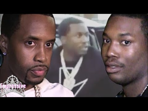 Safaree ambushed by Meek Mill's goons! LIVE FOOTAGE | Backstory behind their beef
