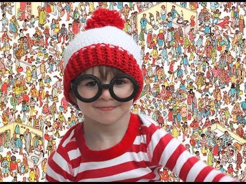 Disfraz de Wally para niños.