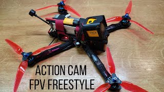 """FPV Freestyle 7"""" Quad // CADDX ORCA Action Cam Testing"""