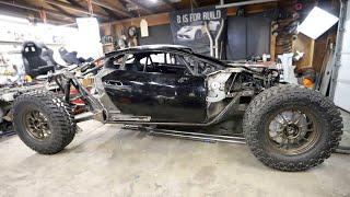 Building Rock Sliders For The Off-Road Lamborghini Huracan