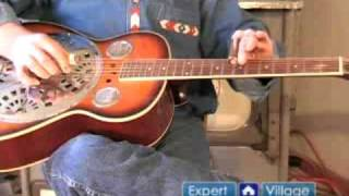 How to Play Dobro Slide Guitar Music : How to Play Slide Guitar Music