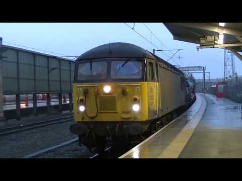 Colas Rail 56087 & 56113 arrive at Crewe working a railhead …