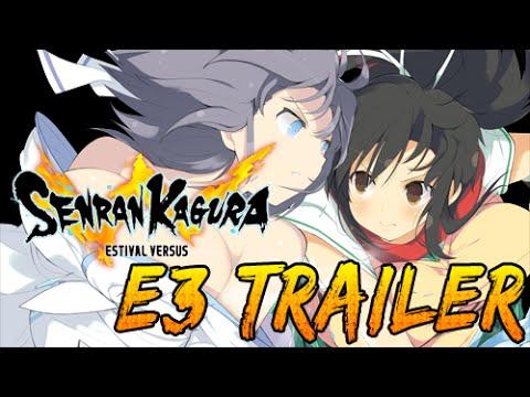 Trailer de Senran Kagura: Estival Versus