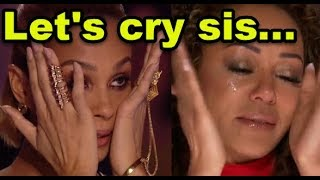 """Top 5 """"WHEN WOMAN STARTS TO CRY"""" HEART TOUCHING AUDITIONS On Britain"""