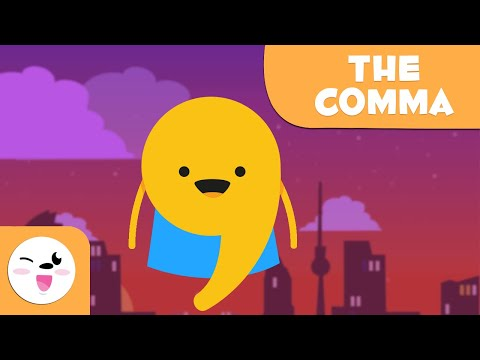 THE COMMA - Punctuation Marks - Grammar and Spelling for Kids