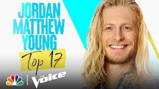 "Jordan Matthew Young Sings Fleetwood Mac's ""Gold Dust Woman"" - Voice Live Top 17 Performances 2021"