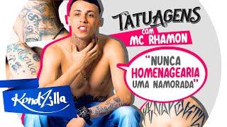 """Tatuagens com MC Rhamon – """"Vou lacrar meu corpo todo de tatuagem"""" (KondZilla)"""