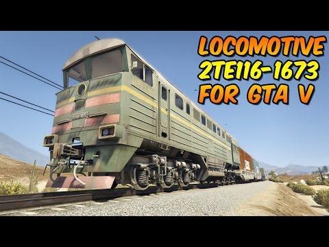 Locomotive 2TE116-1673