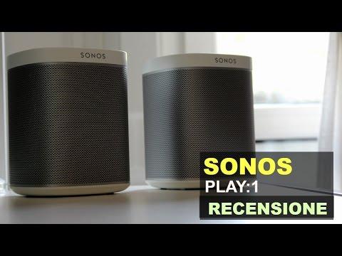 I MIEI SPEAKER WIRELESS PREFERITI - Recensione Sonos Play:1