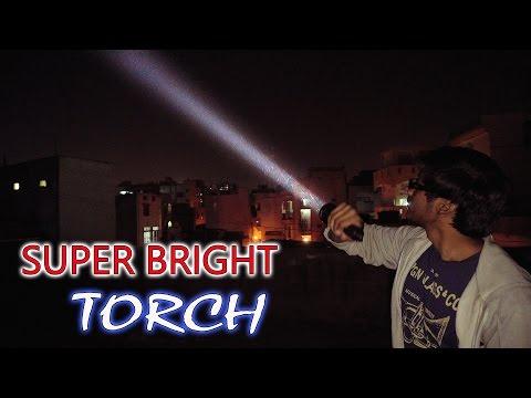 UTorch UT02 Tactical Flashlight Review | Super Bright!