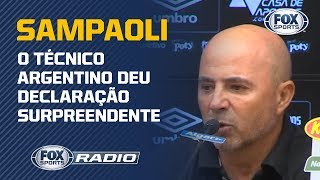 """""""JOGOU MUITO POUCO"""": Sampaoli surpreende ao falar sobre São Paulo na última partida"""