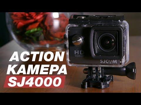 Экшн видеокамера SJCAM SJ4000 черный - Видео