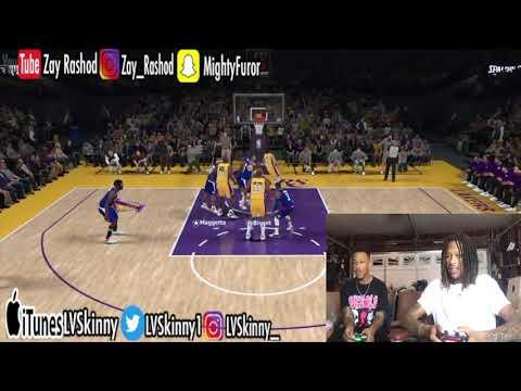 NBA 2K18 - LVSkinny Vs. Zay Rashod