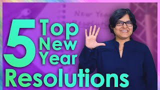 😎 Top 5 Financial Resolution For 2020 By CA Rachana Ranade | Happy New Year!