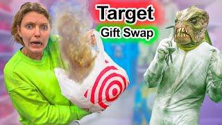 Target Gift Swap Challenge w/ Pond Monster!!